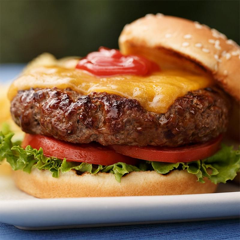 Easy Grilled Burger Recipe | Kingsford®