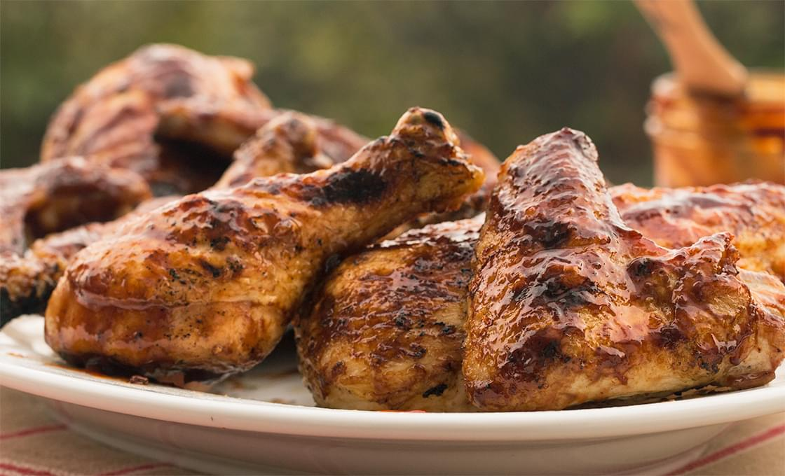 Easy Grilled Chicken Thighs Bone In Pieces Recipe Kingsford