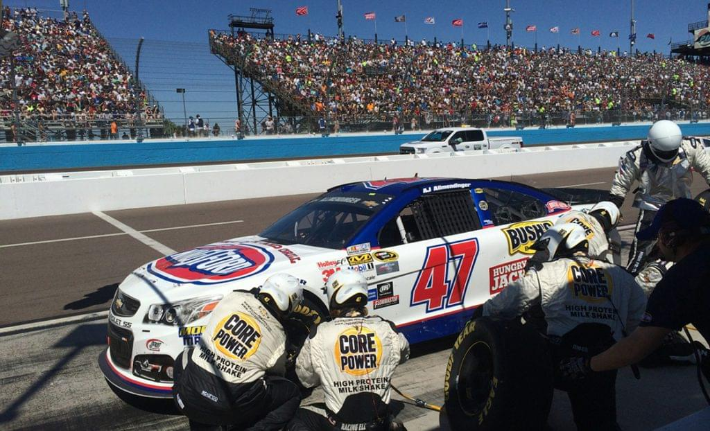 Pit stop with 47