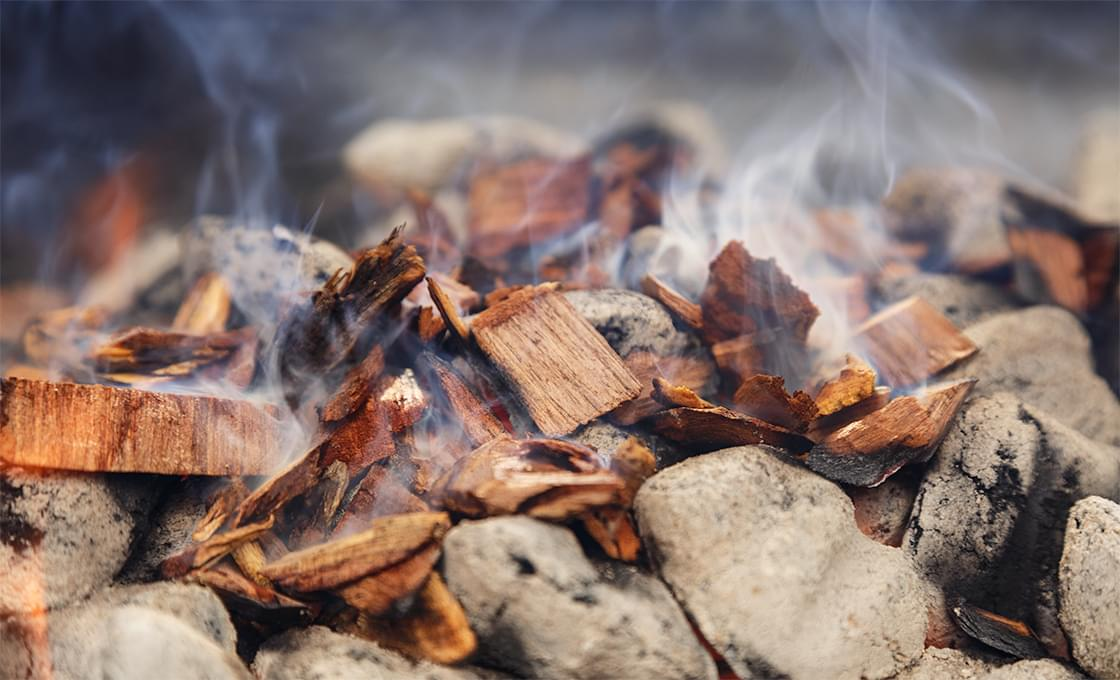 Wood Chips smoking