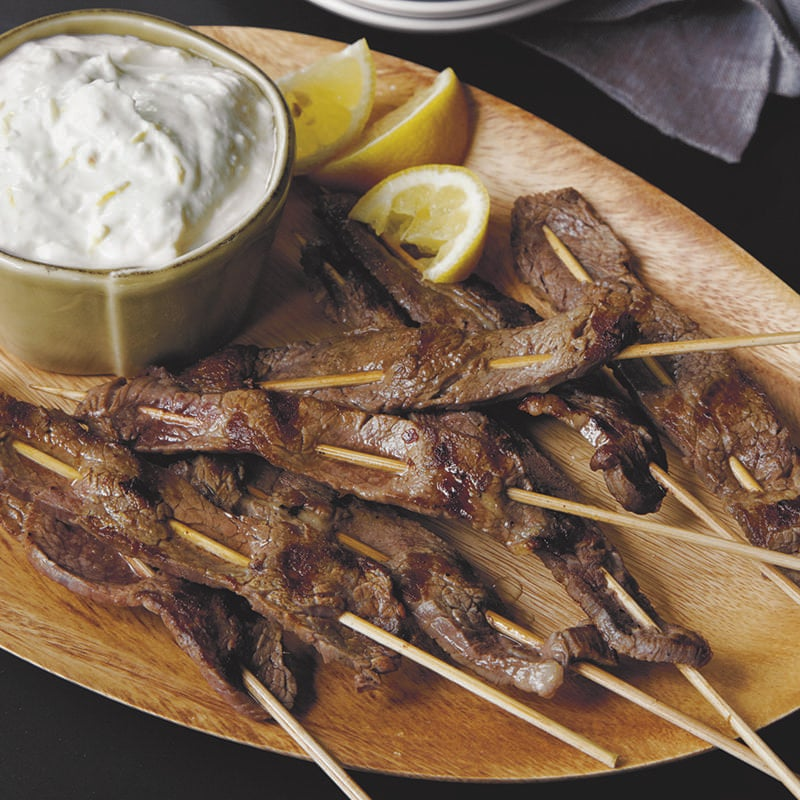 Lemon-Flank-Steak-Skewers