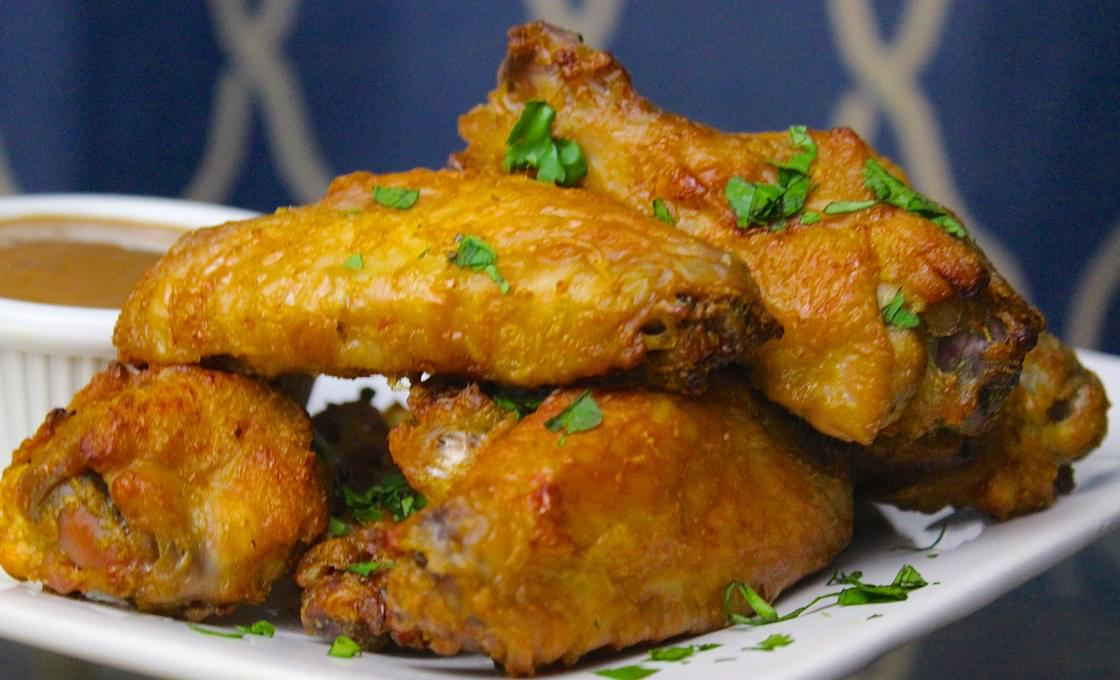 Smoked Thai Coconut Curry Wings
