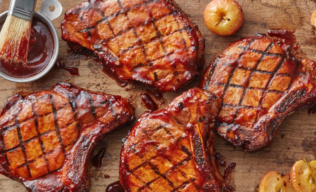 Cider Brined Pork Chops