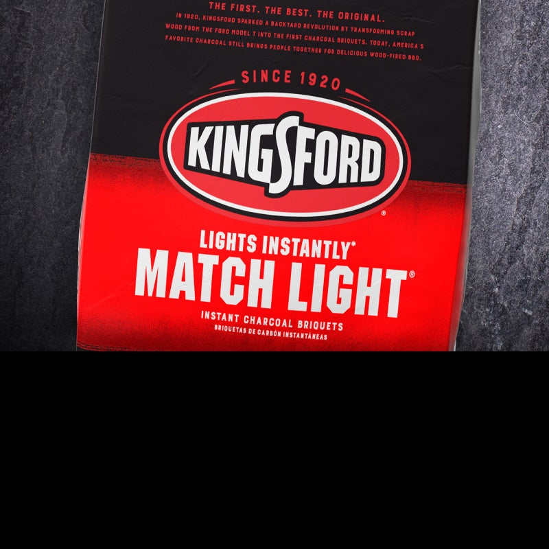 Match Light Charcoal for Easy BBQ   Kingsford