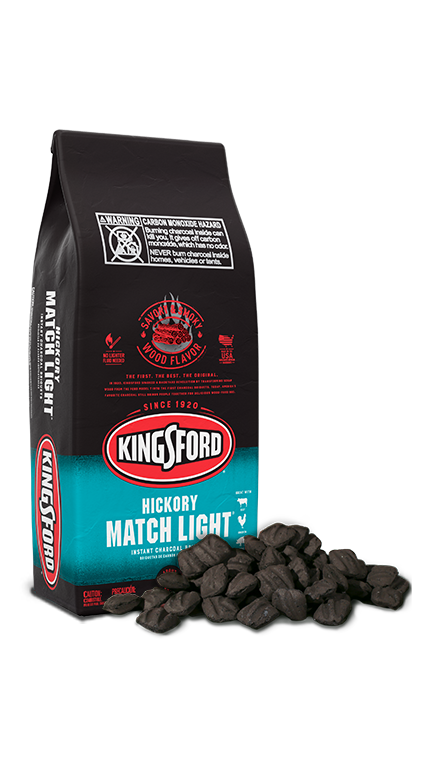 Kingsford® Match Light® Charcoal with Hickory
