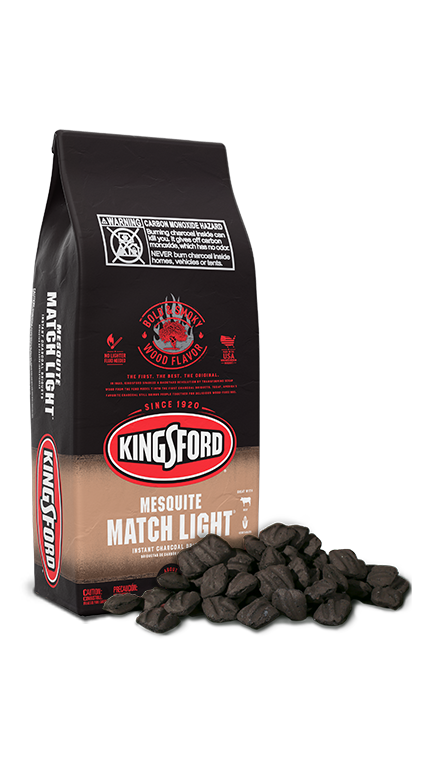 Kingsford® Match Light® Charcoal with Mesquite