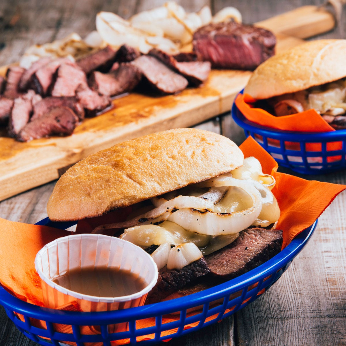 Filet Steak Sandwiches
