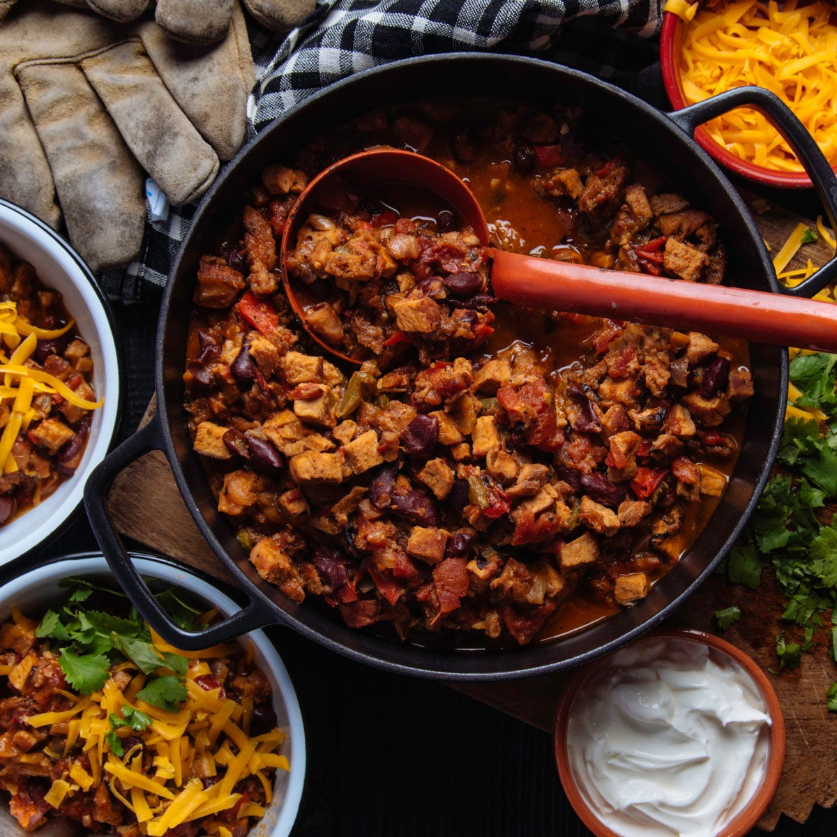 Smoky Rattlesnake Chili