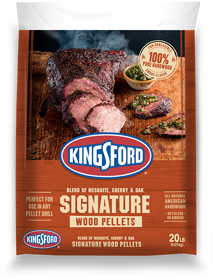 Kingsford® Hardwood Pellets  — Signature