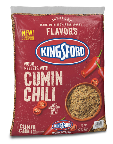 Kingsford® Signature Flavors Hardwood Pellets — Cumin Chili